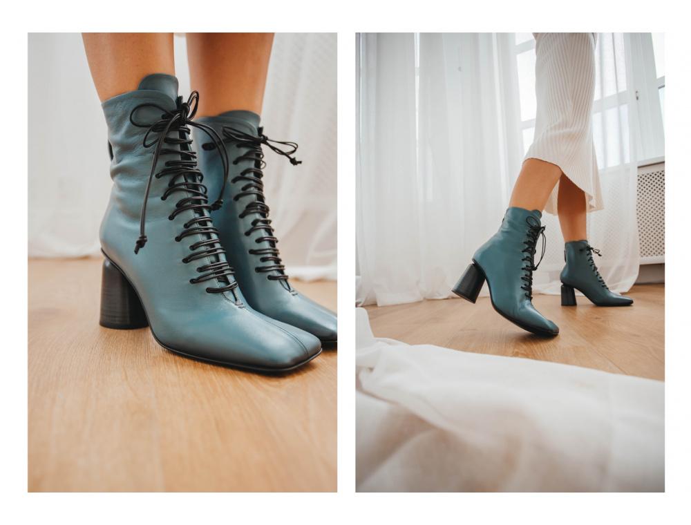 Обувь на шнуровке. Как носить тренд 2022