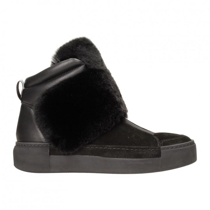 Ботинки Vic Matie 6708-101м замш чер