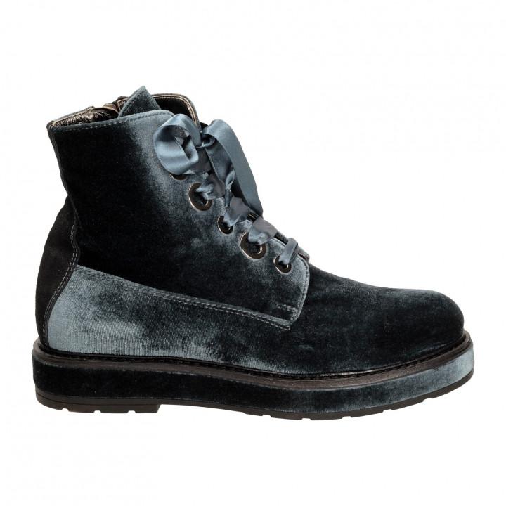 Ботинки Alexander Hotto 34532велюр