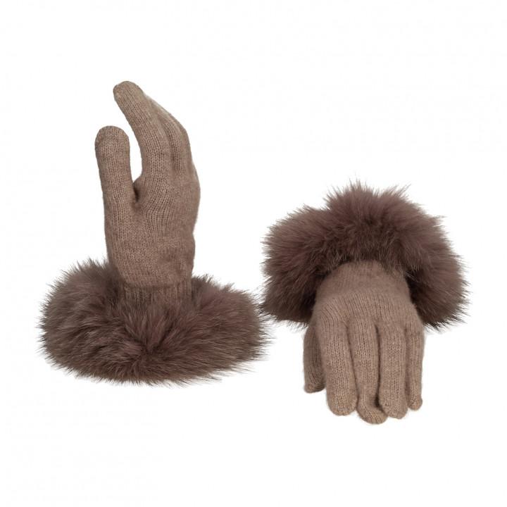 Перчатки Goia Roberto Guanto Donna мех-107кор