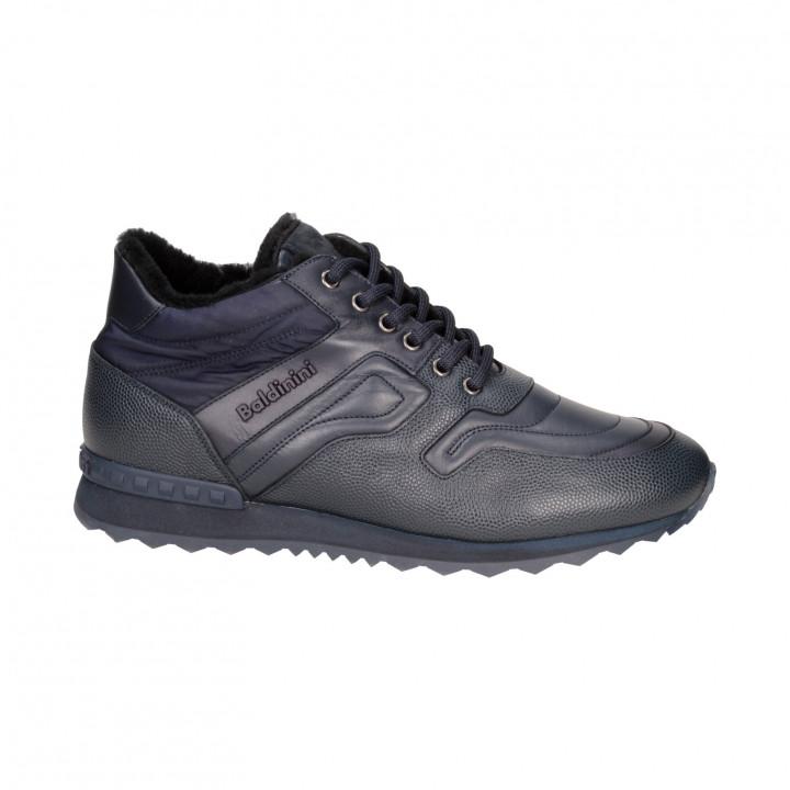 Ботинки Baldinini 947432-03м кож син