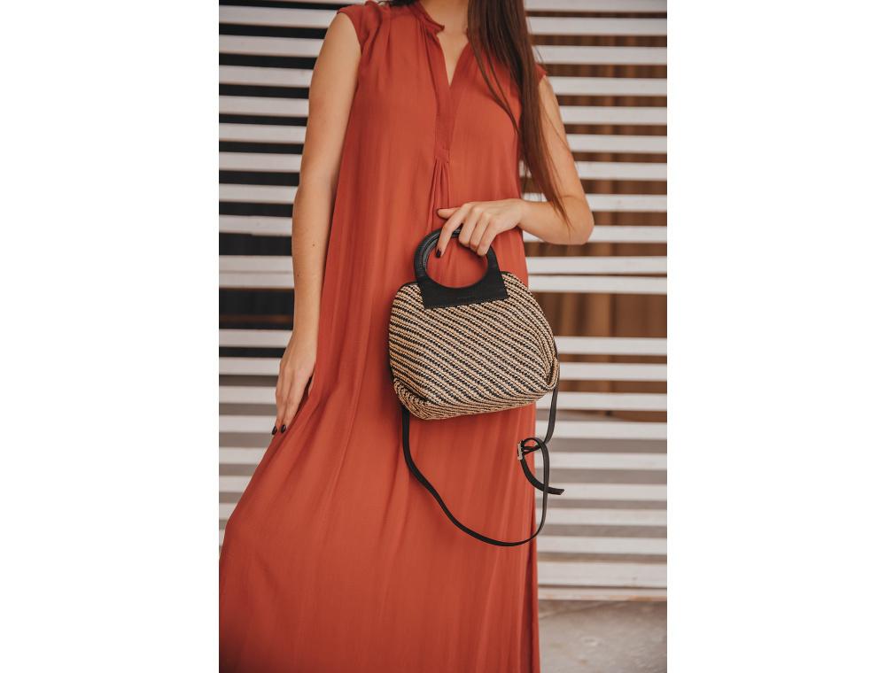 Плетеные сумки из рафии – идеальный вариант для лета